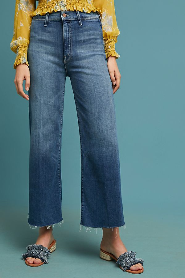 MOTHER Extra High Cropped Jean