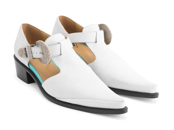 Fluevog Tstrap Shoe