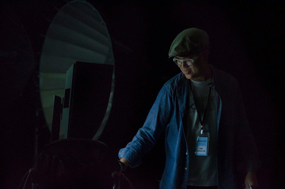 Ivan conducting a workshop at ShootSIN.