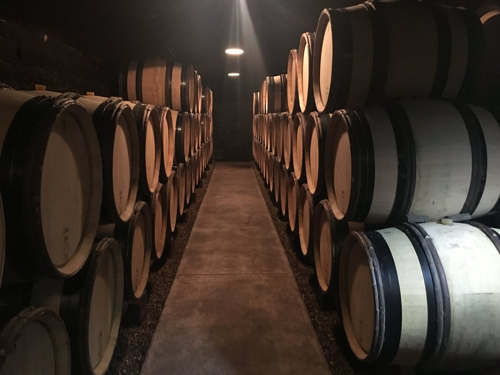 The hallowed ground of the Roulot cellar
