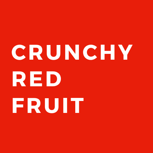 CRUNCHY RED FRUIT