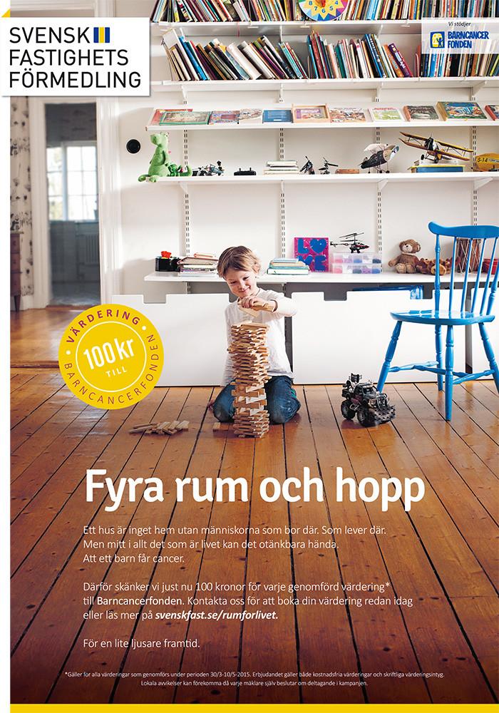 SvenskFast-Kampanjannons-Barncancerfonden-Bostadsvädet-Pojke-leker.jpg
