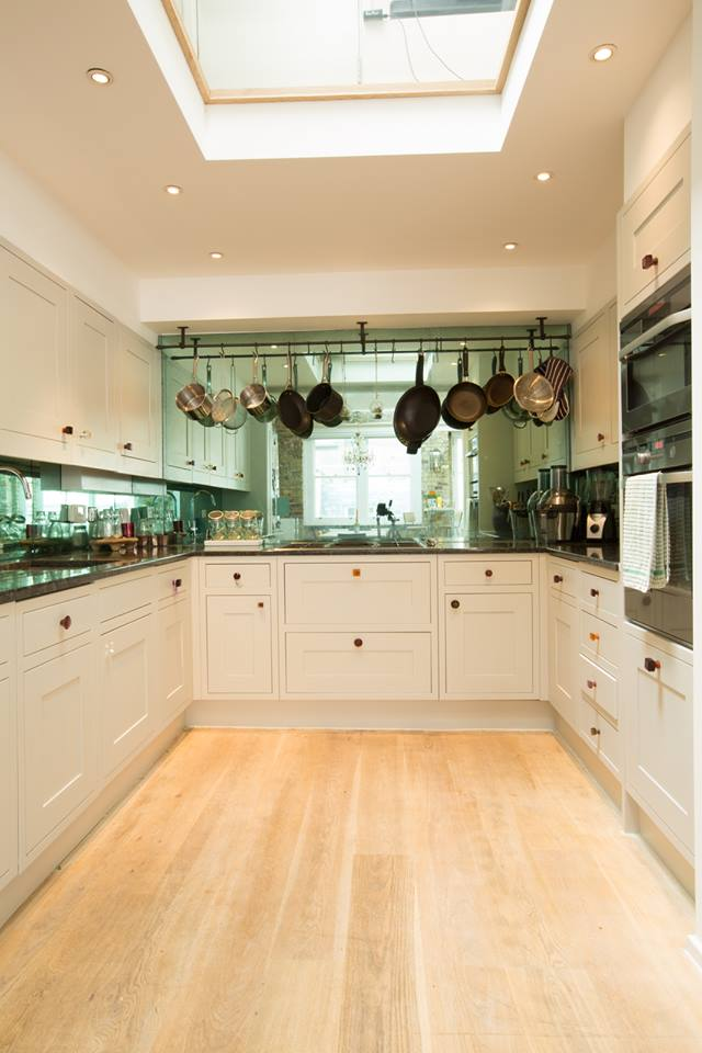 Lancaster Gate  interior design project: kitchen.