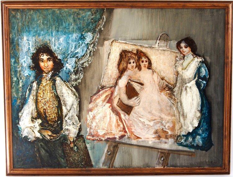 Velaszquez Painting the Maids of Honour