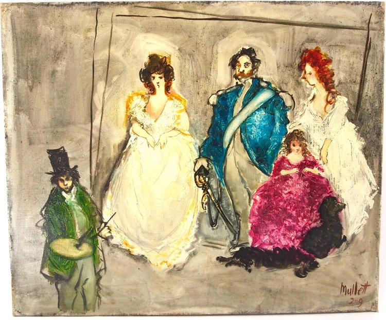 Goya Painting the Spanish Royal Family