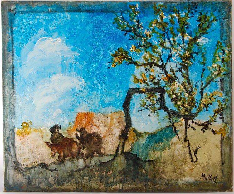 Sicilian Landscape with Bandits