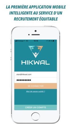 Baptiste est le fondateur d'Hikwal, l'application mobile qui veut rendre le recrutement plus humain et équitable !
