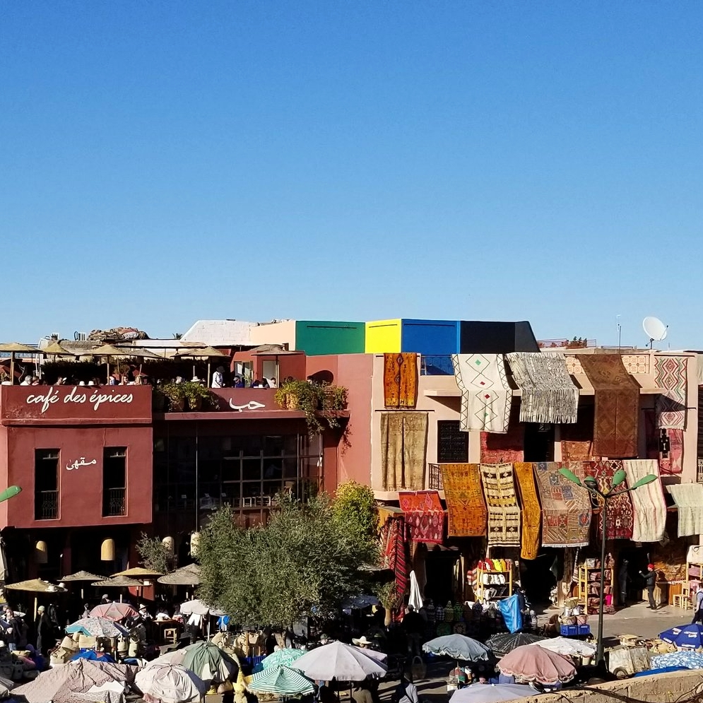 4 Day:    Marrakech roundtrip