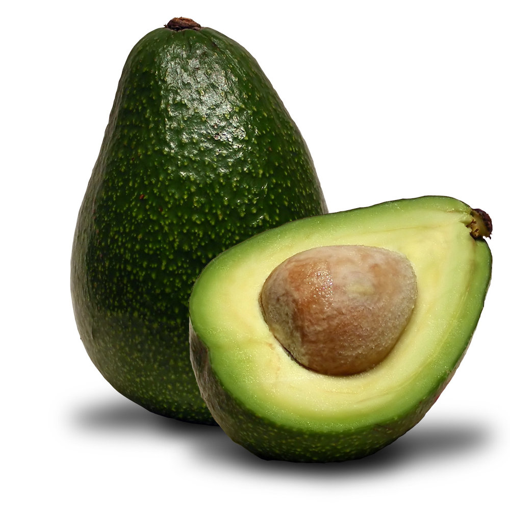 Avocado<strong>Avocado has vitamins A,B,D and E tot protect against free radicals and nourish the scalp.</strong>
