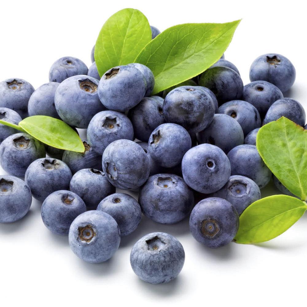 Bosbes<strong>Bosbes is een vrucht, bevat vitamine C en anti-oxidanten, die een gunstig effect hebben op de haargroei.</strong>