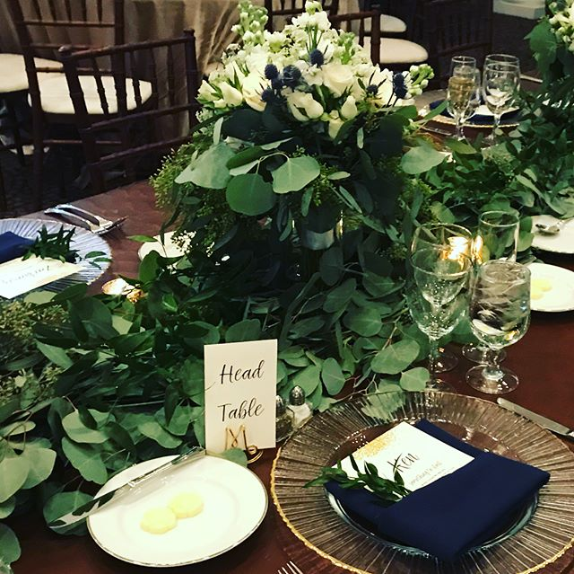 Although our focus is corporate events, we will do anything for a good friend! Simple, sophisticated wedding for @bltoland @whitehallestate florals by Ricks Flowers #bestwishestothehappycouple #osborneevents #weddingsinloudoun