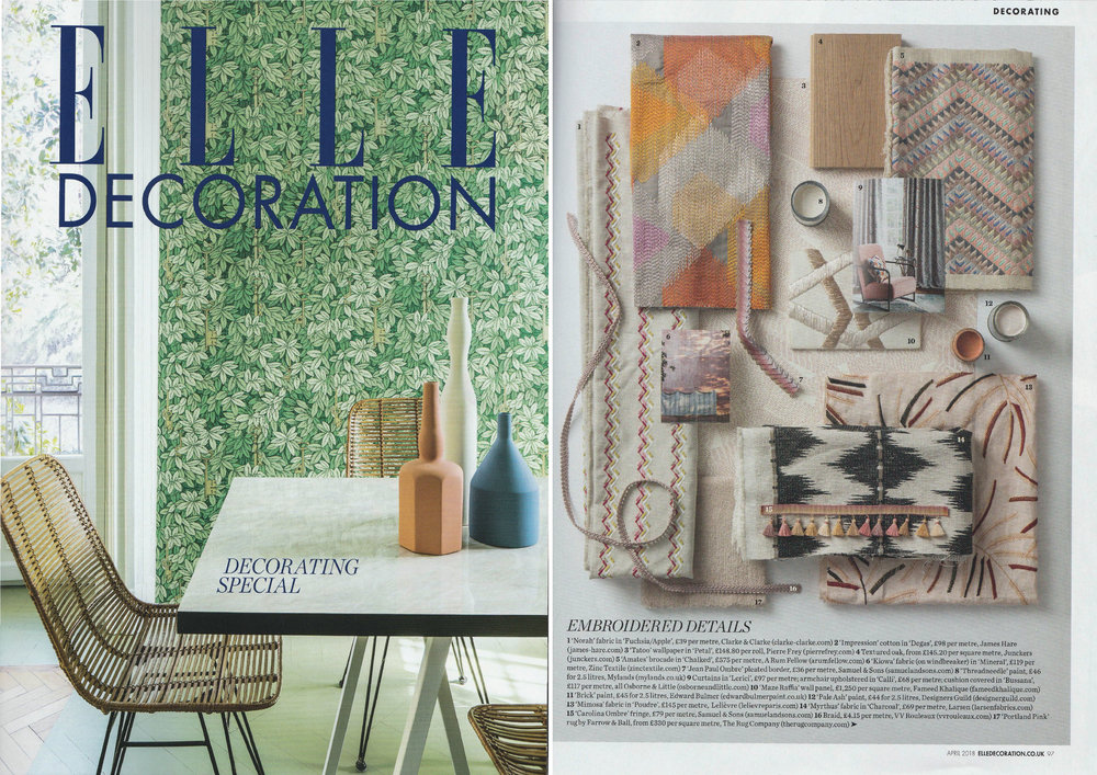 Elle Decoration - April 2018