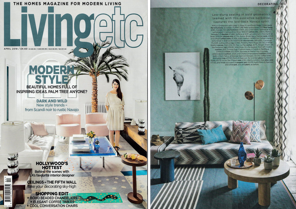 Living etc  - April 2018