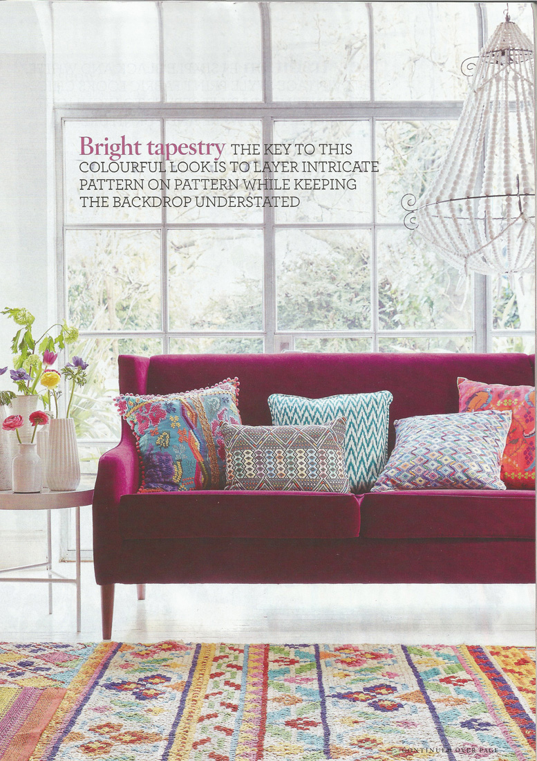 House Beautiful Magazine - Stylist Hannah Deacon