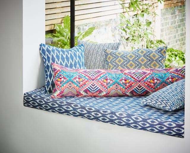 Nica XL Bolster & Indigo Window Cushions - A Rum Fellow.jpg
