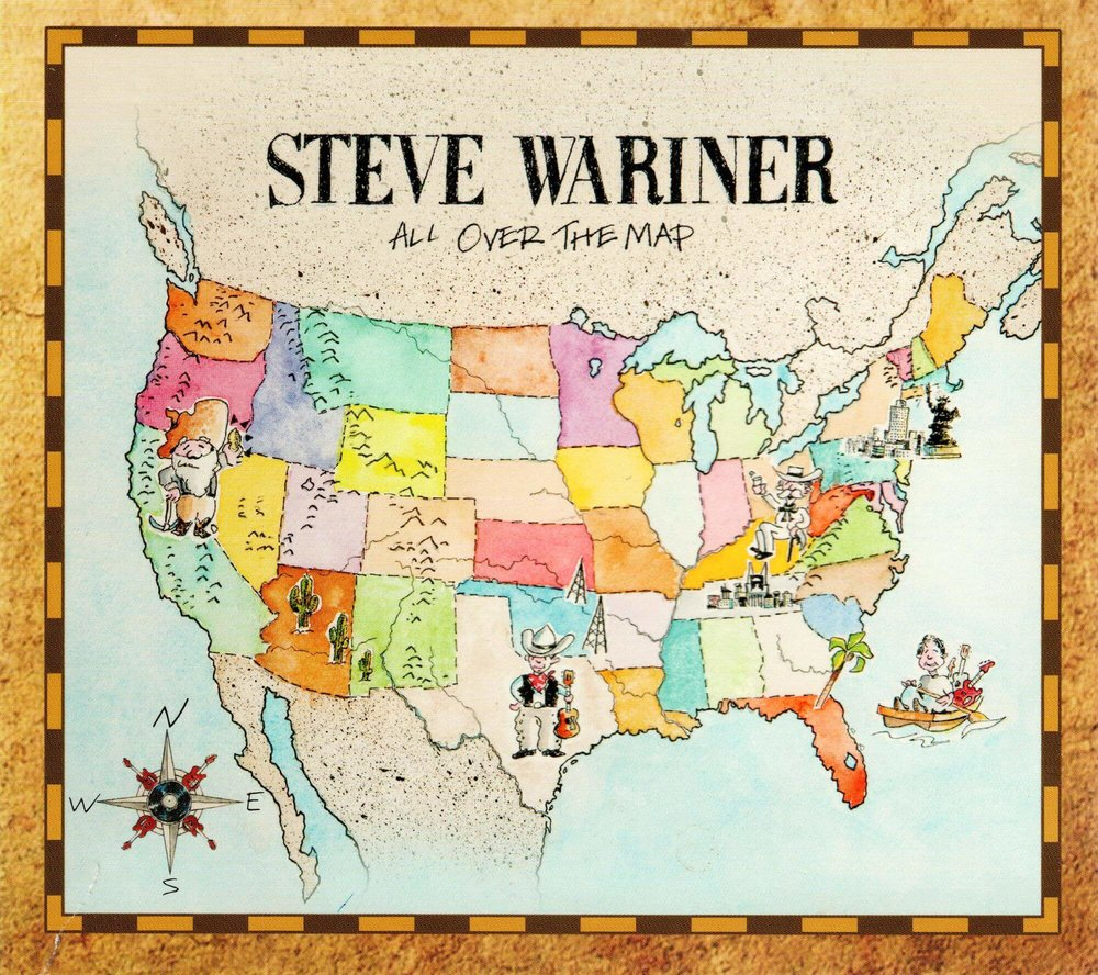 All Over The Map - Steve Wariner .jpeg