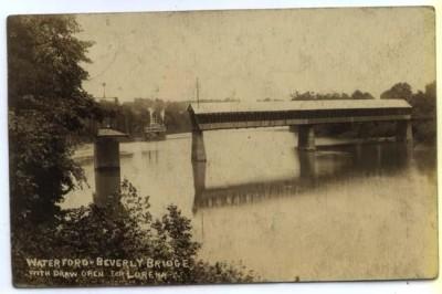Beverly Waterford Bridge prior 1913 flood.jpg