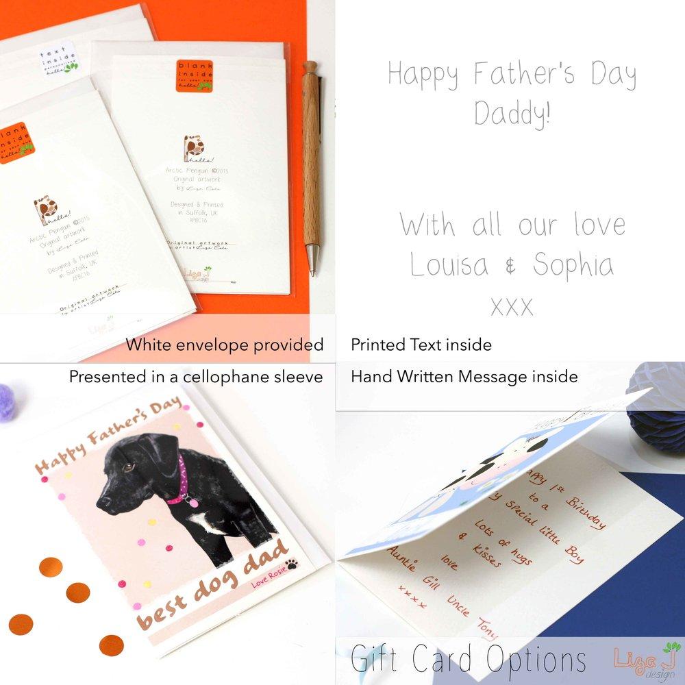 Personalised Rosie Dog Birthday Card Liza J Design