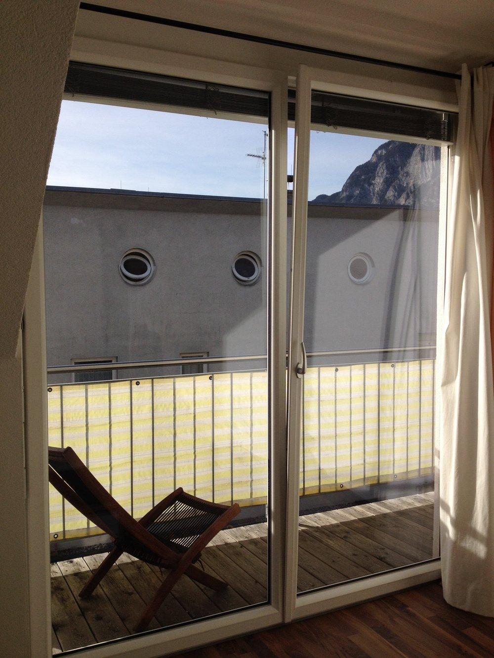 House with portholes