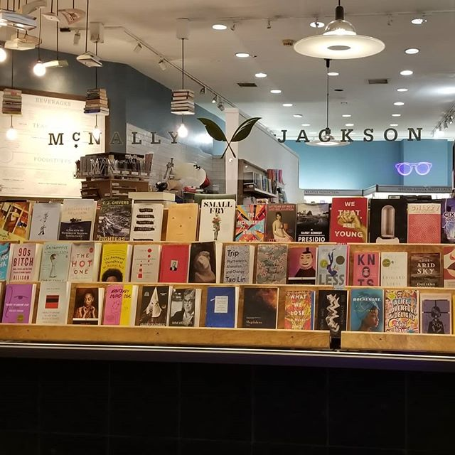 Night in NYC, kids are in bed, what's a mom to do?  Of course, Stop @mcnallyjackson on Prince St Check out pic 3 - Thats recommended books featuring NYC in chronological order.  #ILoveNY #BookLove #Indiebookstorelove #Indiebound #PartyforOne #Bookstagram #NYC #biblioofasuburbanmom