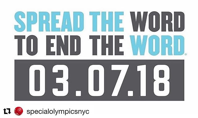 "#Repost @specialolympic ・・・ 🚨Today is Spread the Word to End the ""R"" Word Day! 🚨 Respectful and inclusive language is essential to the movement for the dignity and humanity of people with intellectual disabilities. However, much of society does not recognize the hurtful, dehumanizing and exclusive effects of the R-word.  Language affects attitudes. Attitudes impact actions. Make your pledge for #Respect today ⬆️ link in the bio.  @endtheword #spreadthewordtoendtheword #inclusion"
