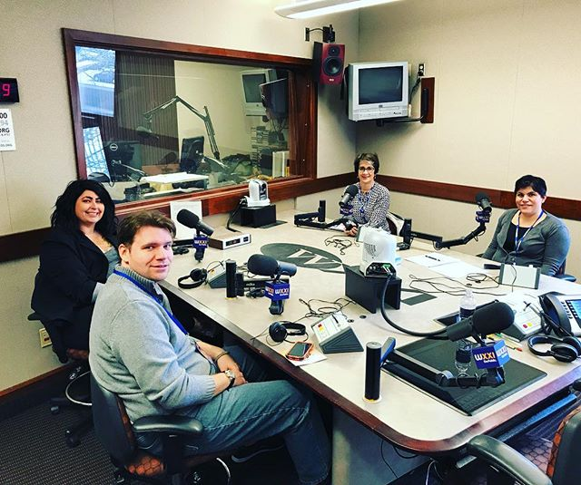 Be sure to tune into the Evan Dawson Show at noon! Ann Costello is talking disabilities and R-Word with Dr. Tiffany Pulcino, Lindsay Jewett, Soeren Palumbo and Dillion Multerer. @bestbuddiesny @wxxirochester #movetoinclude #rocrespect #respect #endtherword #publicbroadcasting #wxxi
