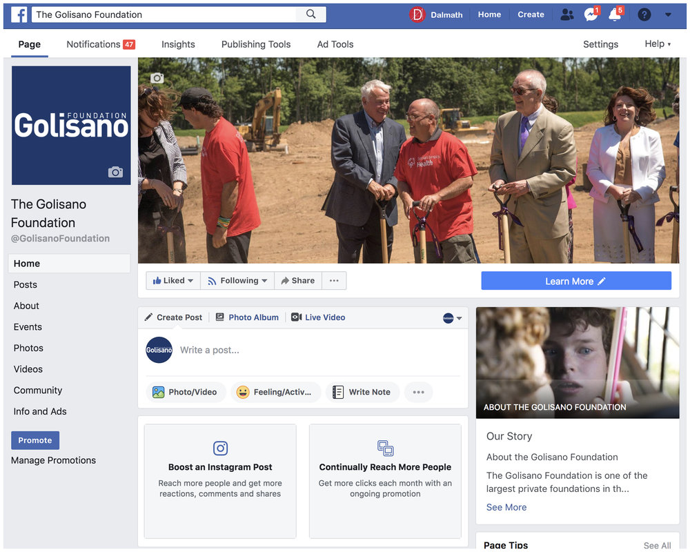 Golisano Foundation [3.6K likes]