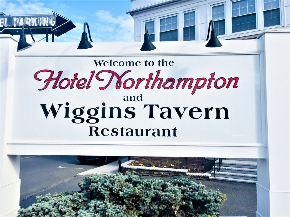 Hotel Northampton and Wiggins Tavern- Made by Godfrey Signs
