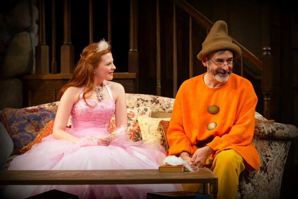 Me and Mark Nelson in VANYA AND SONIA AND MASHA AND SPIKE at Hartford Stage