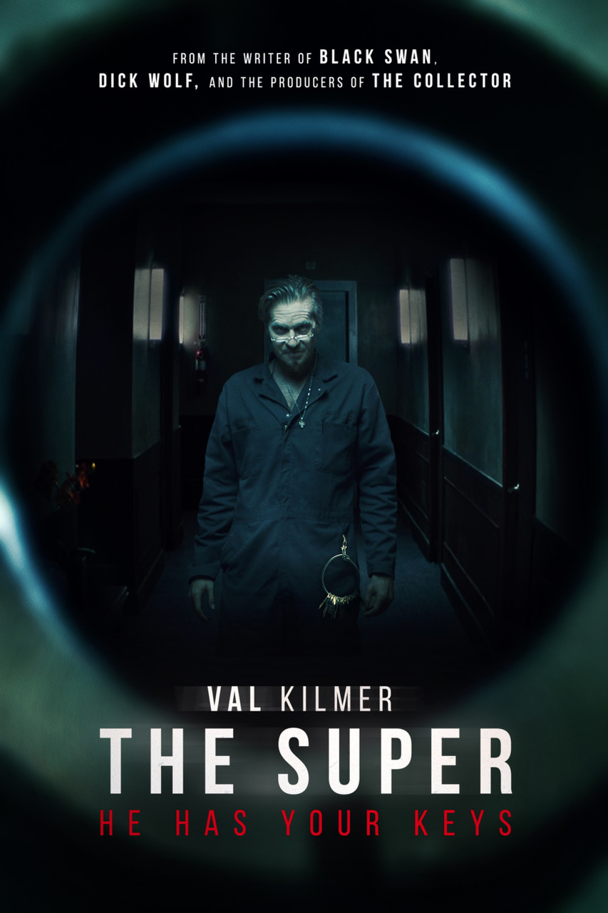 THE SUPER - We have a release date! On October 19th, 2018 the film staring Val Kilmer (and yours truly) will play in select theaters through Halloween, and then be released on VOD. Check out more about this film, and our fantastic cast & crew here on IMDB.