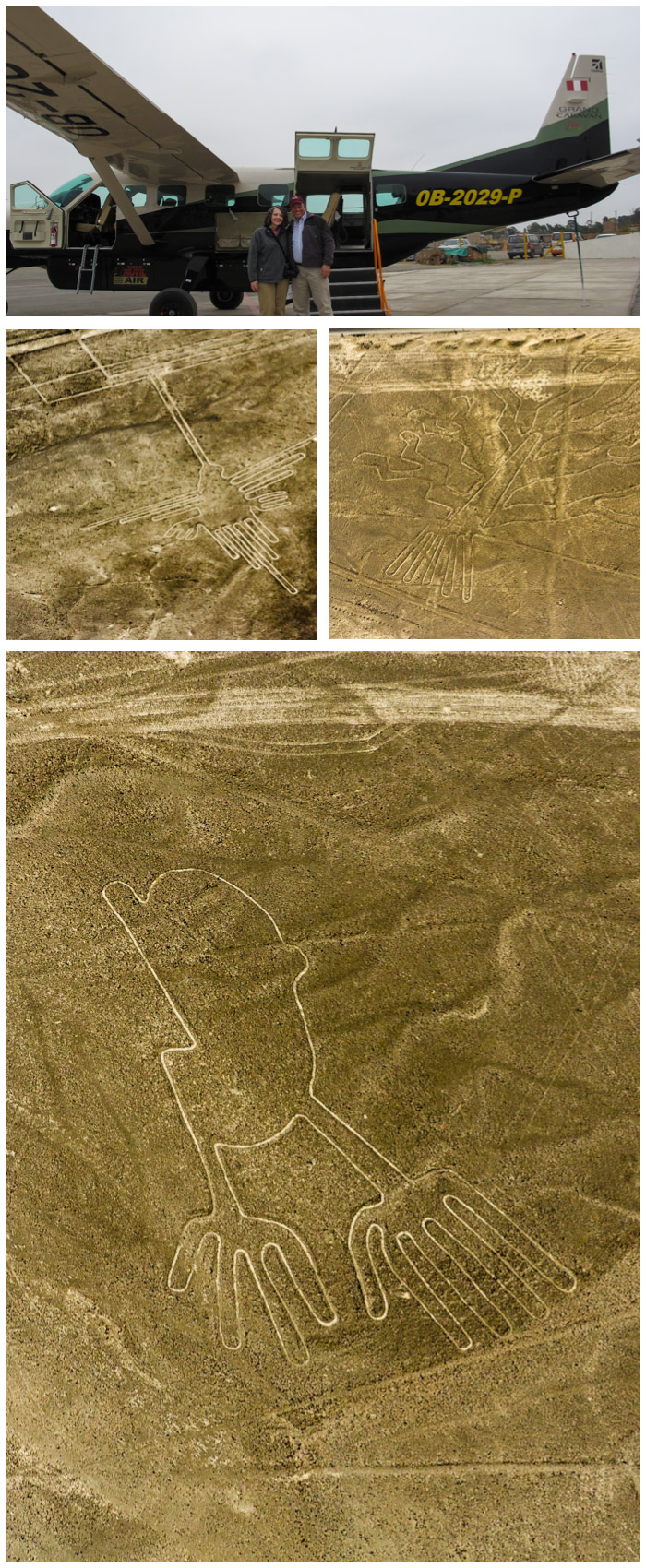 Nasca Lines Collage Digital Photography © 2015 SuZan Alexander