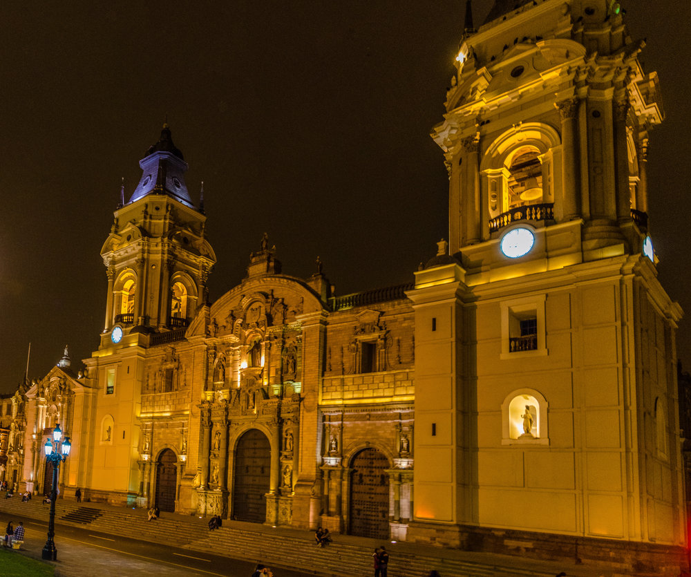 Cathedral of Lima Digital Photography, © 2015 SuZan Alexander