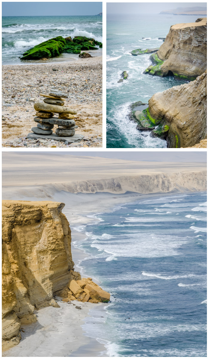 Paracas National Reserve Collage, Digital Photography, Copyright © 2015 SuZan Alexander