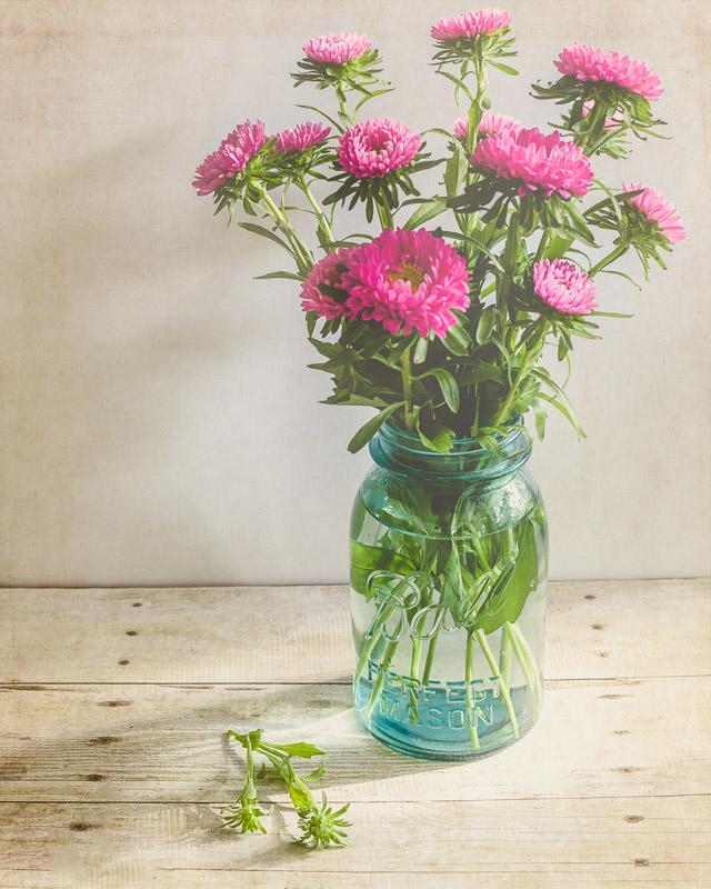 No Frills Flower Arrangement