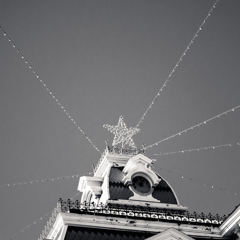 Courthouse Christmas Star (Mason County Texas)