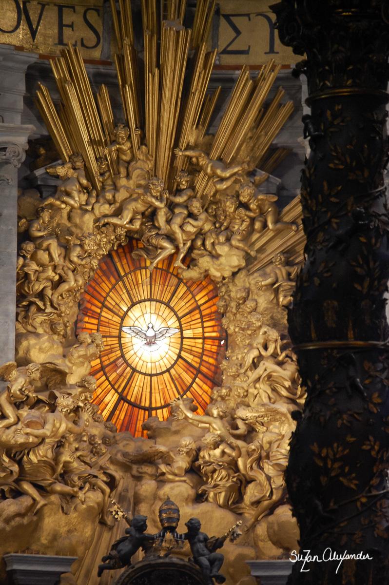 Rome: St. Peter's Basilica, Digital Photography, © 2010 SuZan Alexander