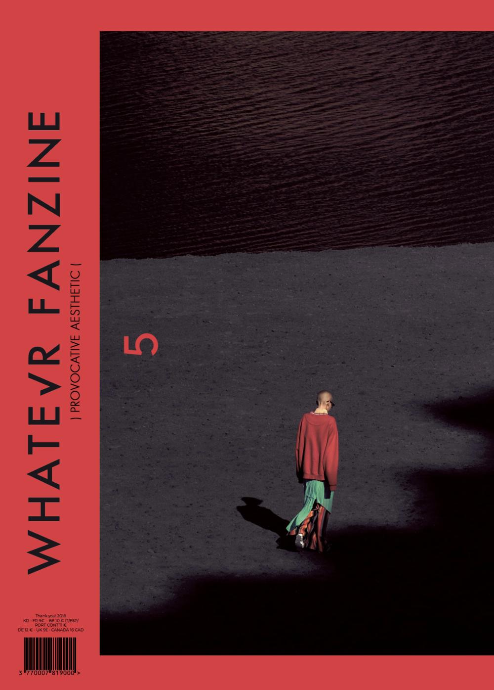 Whatever Magazine Cover