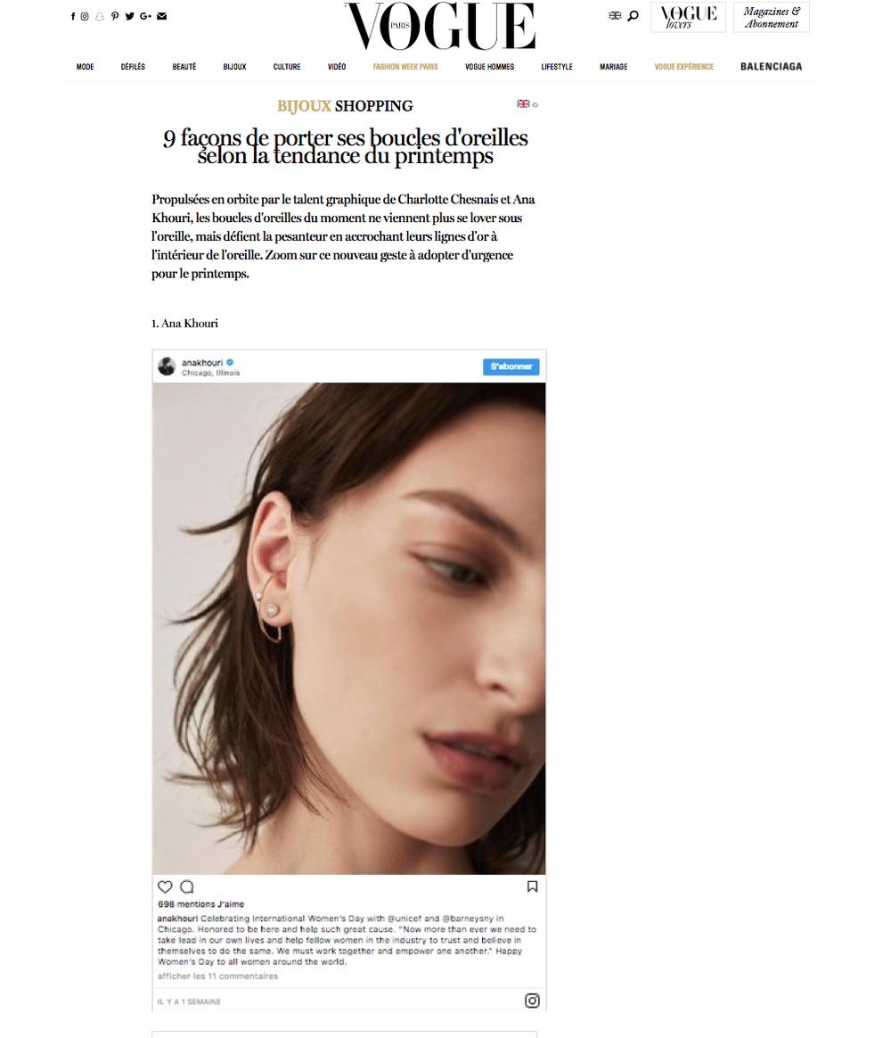 Vogue France Online
