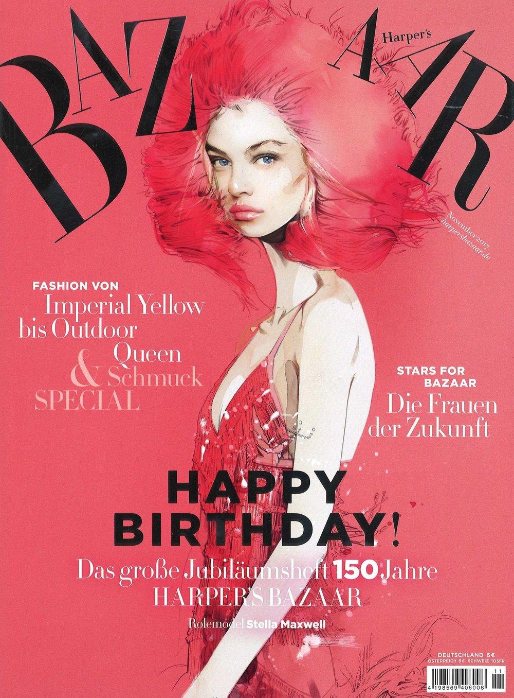 Harper's Bazaar Germany Cover