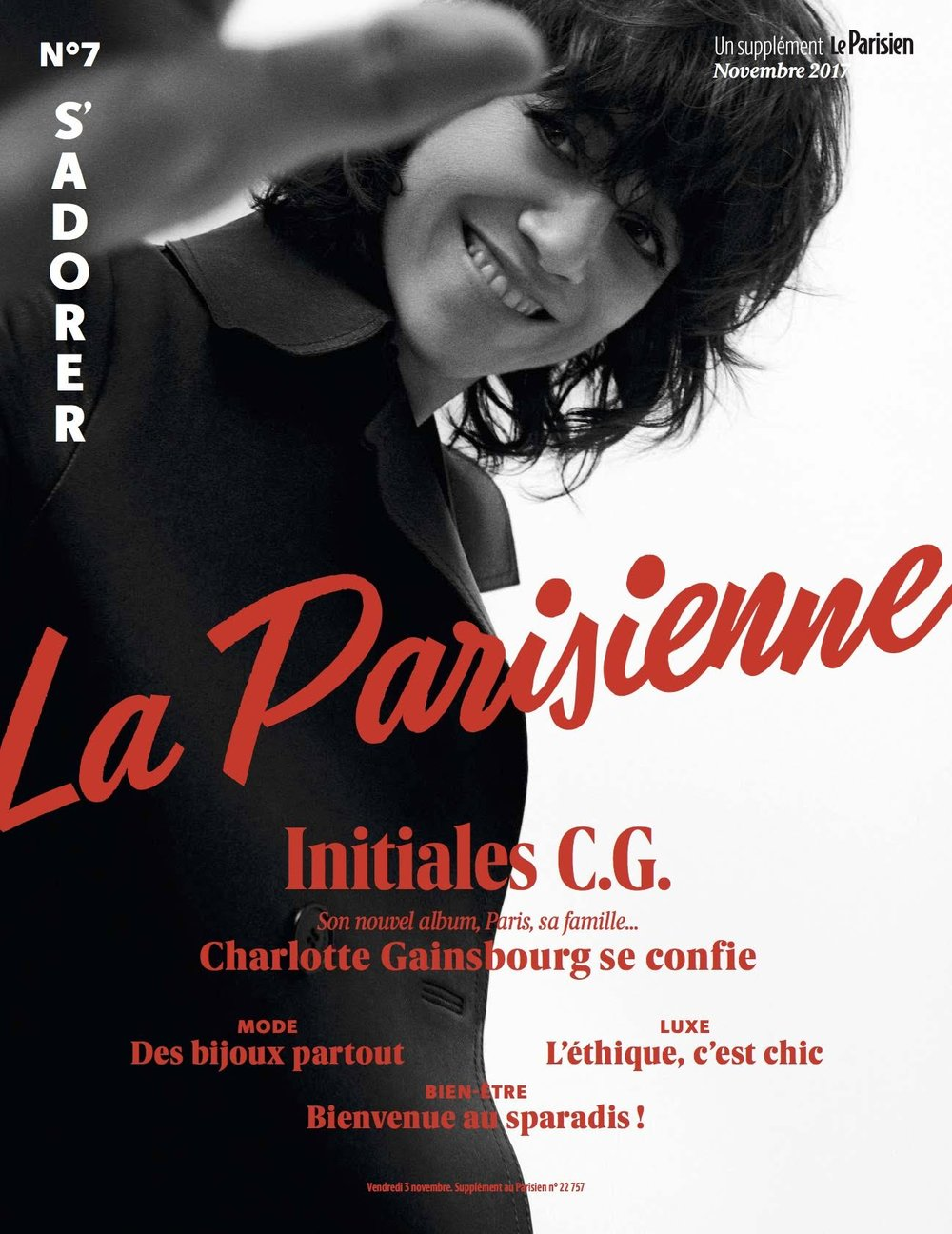 La Parisienne Cover