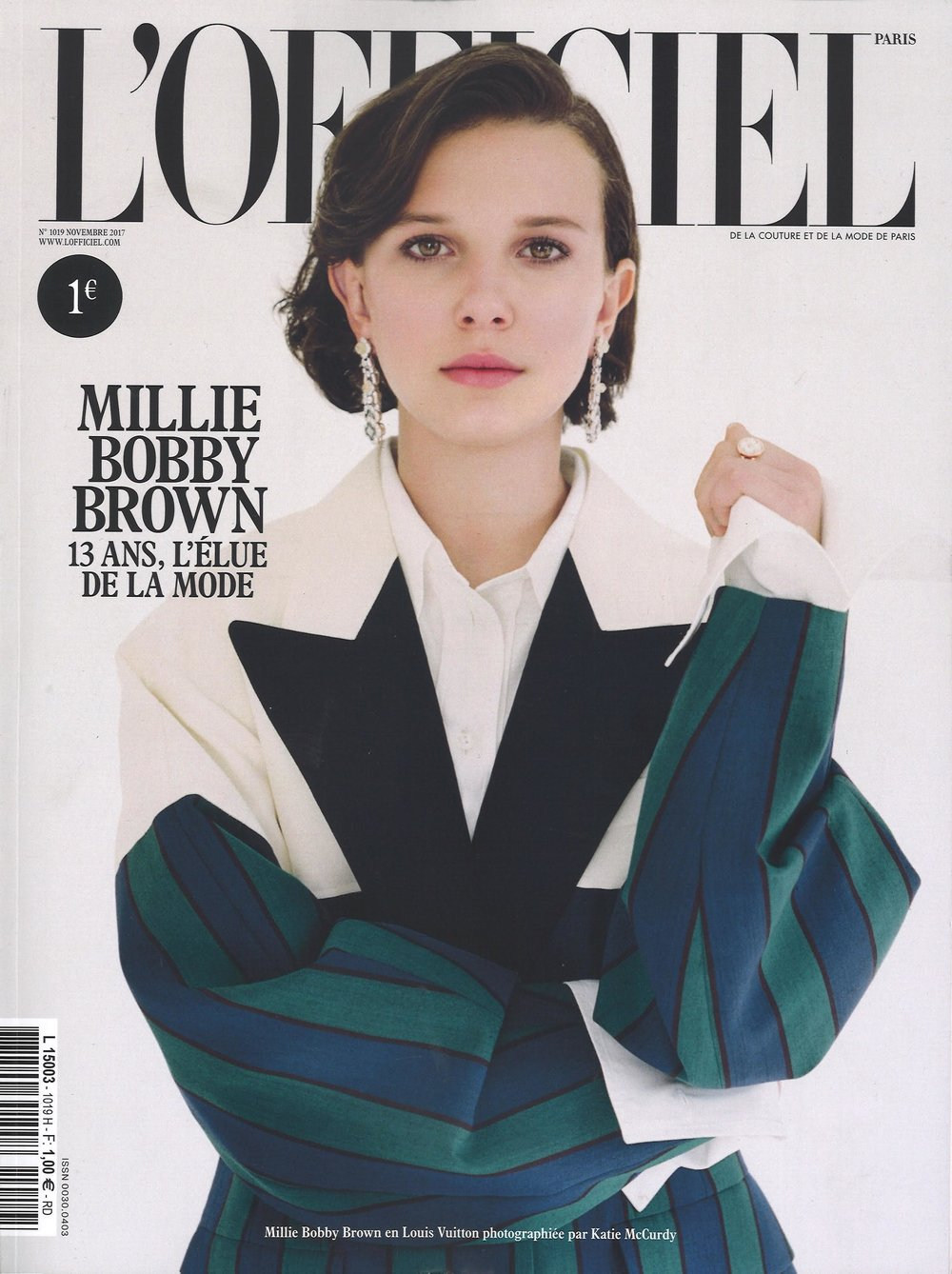L'Officiel Paris Cover