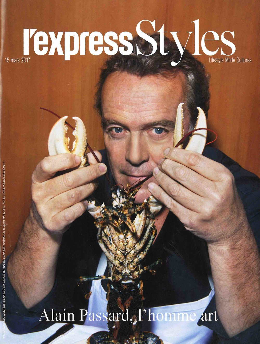 L'Express Styles Cover