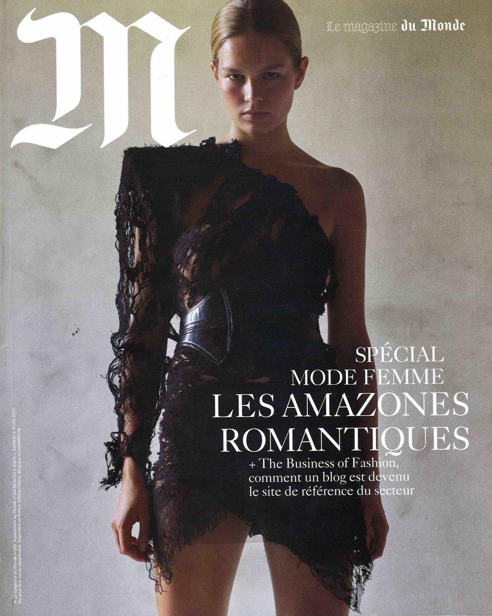 M Le Monde Cover