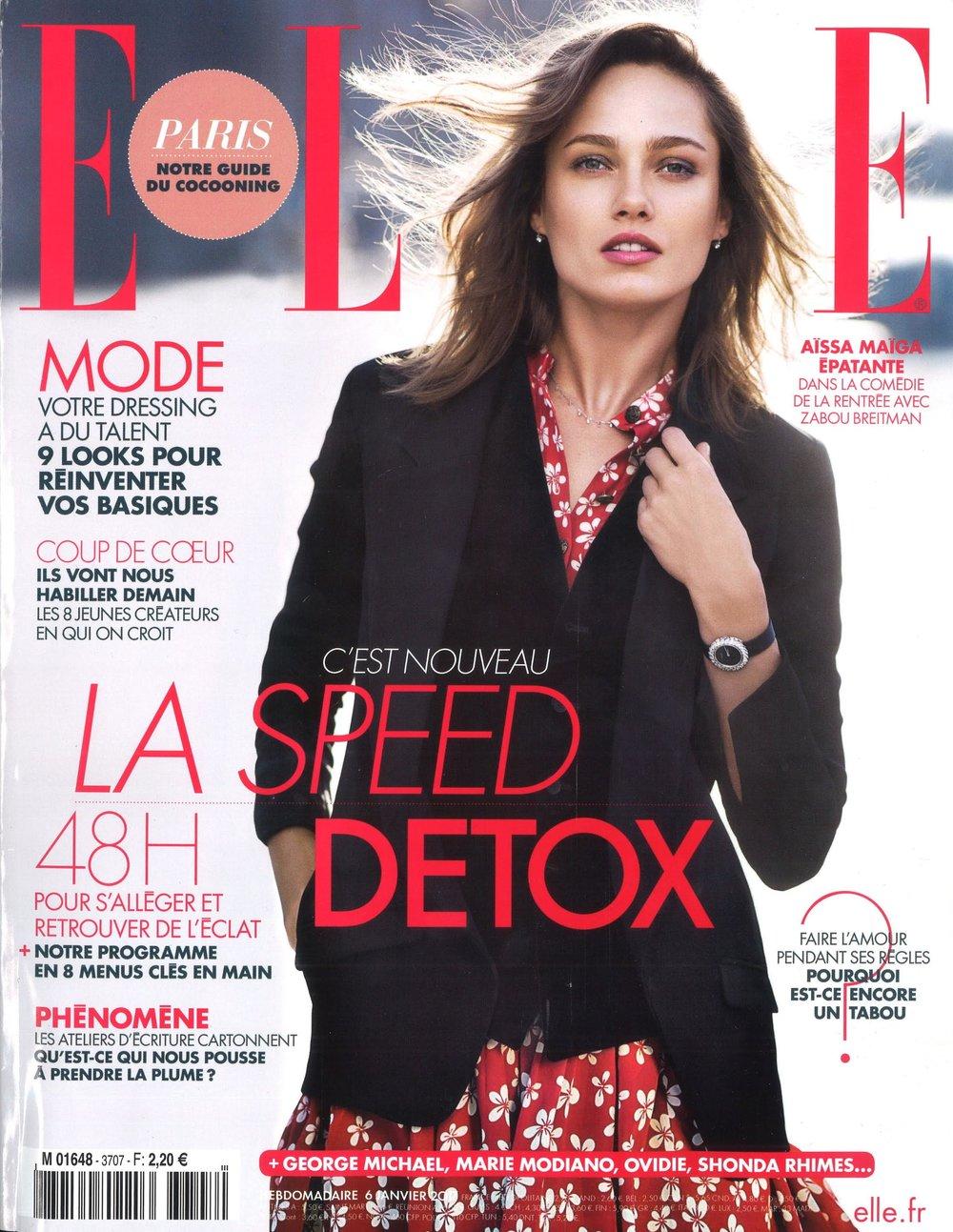 Elle France Cover