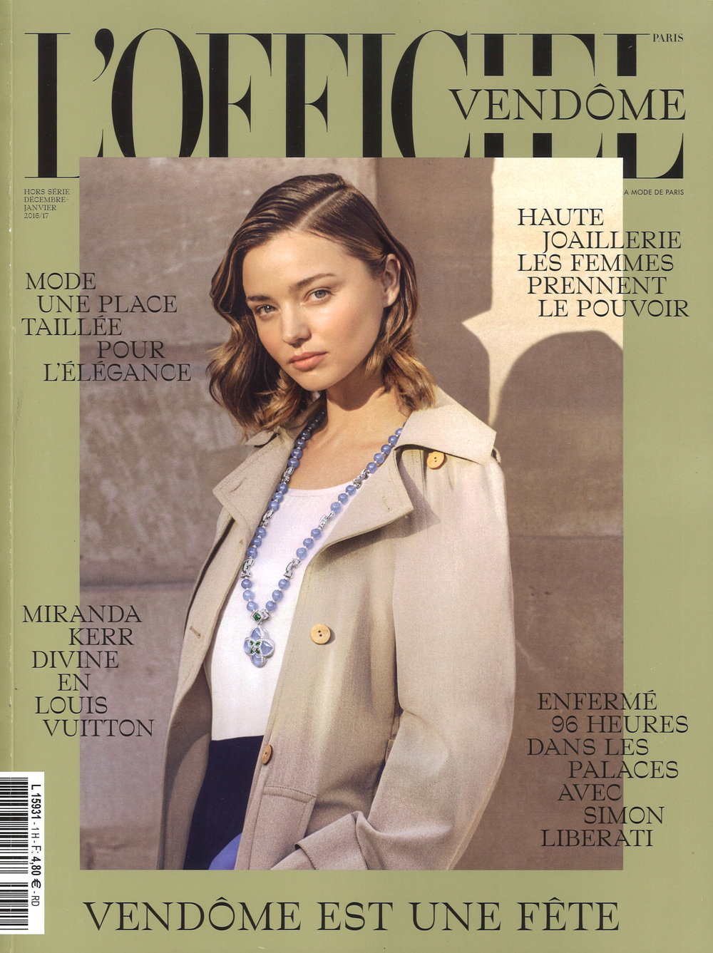 L'Officiel Vendôme Cover