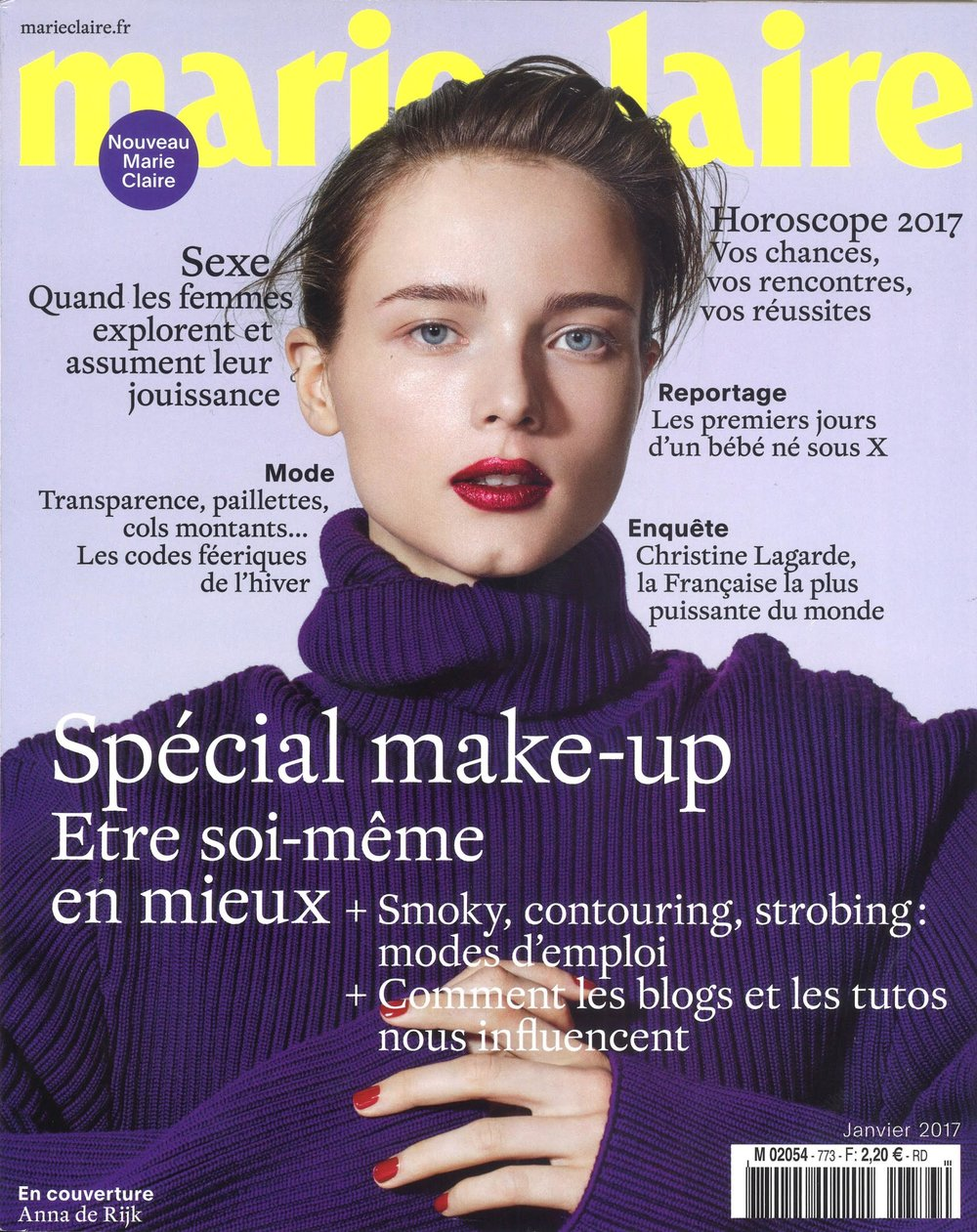 Marie Claire France Cover