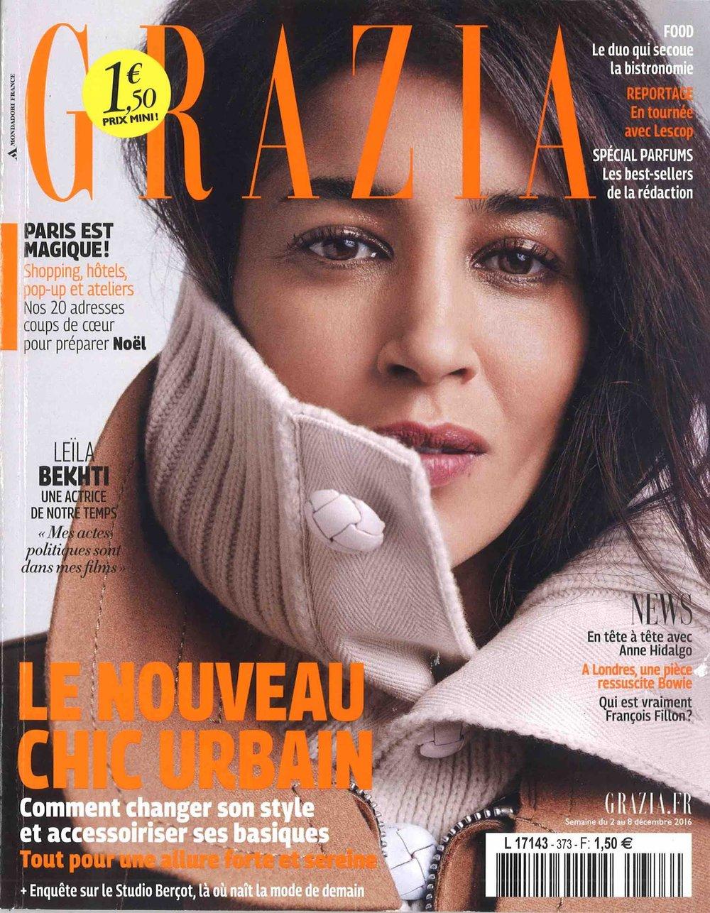 Grazia France Cover