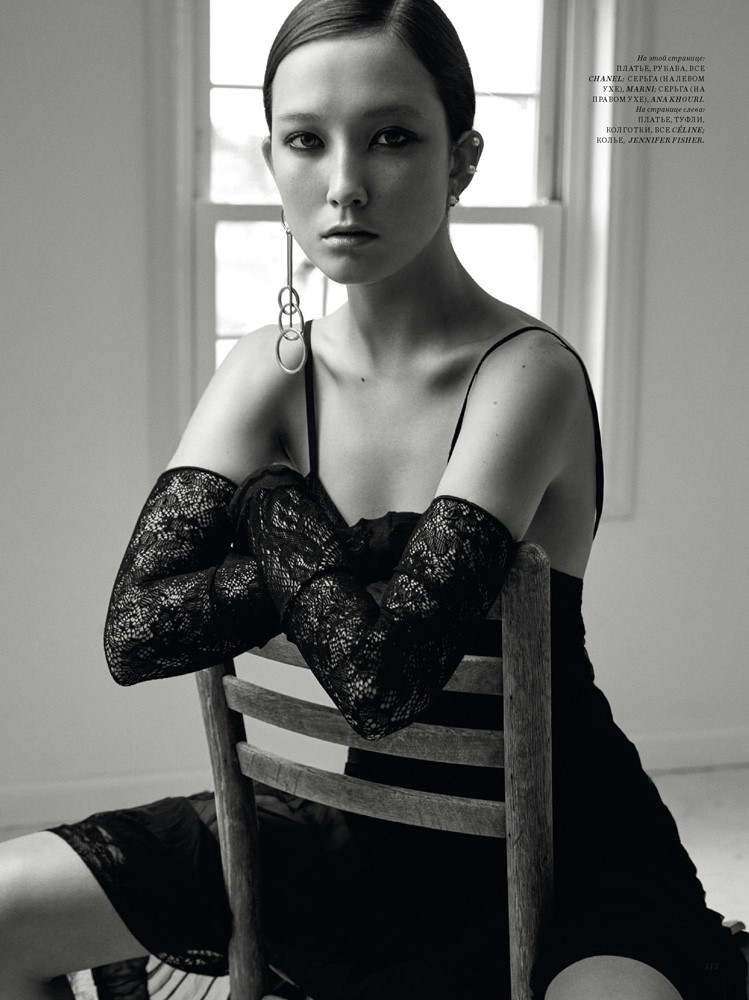 Harper's Bazaar KZ Jane Earring