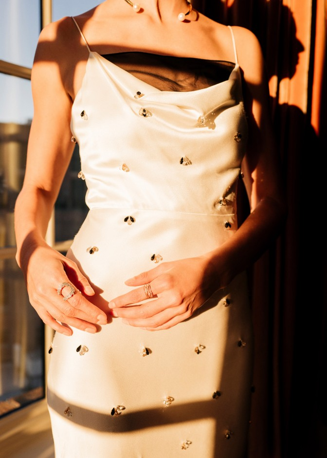 The Coveteur November 1, 2018 Pearl Jane Necklace, Diamond Mirian Earrings, Diamond Marie Cuff, Diamond Gioconda Earrings, Diamond Mirian Ring 3.jpg