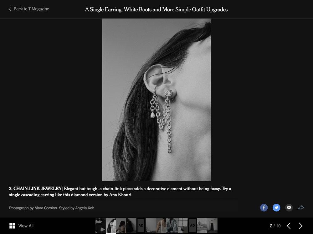 New York Times Online, February 10, 2019 Diamond Missy Ear Piece.jpg